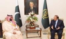 عودة وزير الدفاع السعودي إلى بلاده بعد لقائه برئيس الوزراء وقائد الجيش الباكستاني