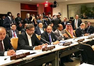 رئيس الوزراء الباكستاني يحث منظمة التعاون الإسلامي إلى لعب دورها بحل المشاكل التي يواجهها المسلمون في ميانمار