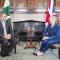 رئيس الوزراء الباكستاني يلتقي رئيسة الوزراء البريطانية