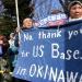 احتجاجات في اليابان مع استئناف أعمال نقل قاعدة عسكرية أميركية