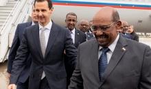 الرئيس السوري بشار الأسد يستقبل نظيره السوداني عمر البشير في دمشق