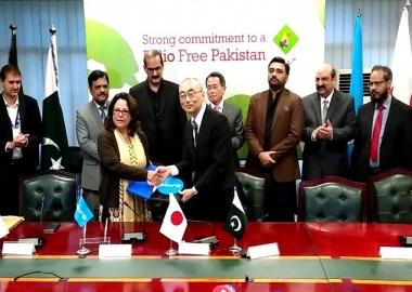 اليابان تقدم مساعدة بقيمة 4.6 مليون دولار أمريكي لدعم جهود باكستان في مكافحة مرض شلل الأطفال في البلاد