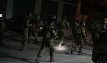 العدو الاسرائيلي يشن حملة اعتقالات بحق الفسلطينيين في الضفة والقدس