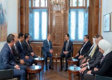 رئيس لجنة الشؤون الخارجية في البرلمان الاردني: اللقاء مع الرئيس الأسد كان وديا ونوعيا