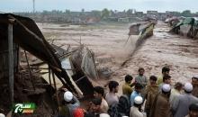 إنقاذ 150 شخصا احتجزتهم مياه الفيضانات فى باكستان