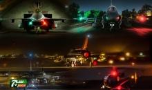 القوات الجوية الباكستانية تجري مناورات عملية ليلية