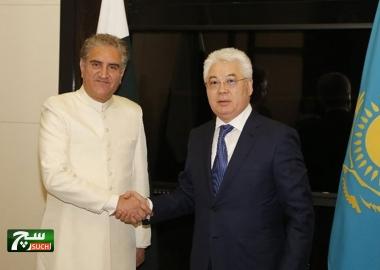 باكستان وكازاخستان تتفقان على تعزيز حجم التجارة الثنائية إلى مليار دولار
