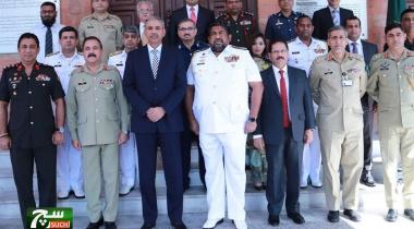 الجولة الثانية من محادثات الدفاع بين باكستان وسريلانكا