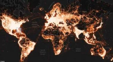 خريطة حرارية تدل الى معلومة مقلقة عن أميركا!
