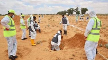 ليبيا.. اكتشاف ۵ مقابر جماعية في مدينة ترهونة