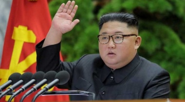 كيم جونغ أون يتعهد بالتغلب على صعوبات تواجه بلاده