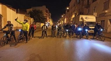 حظر تجول بتونس يدفع هواة الدراجات الهوائية الى احتلال الشارع