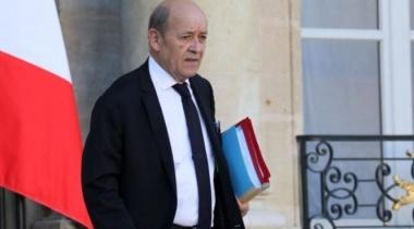 وزير الخارجية الفرنسي يلتقي الرئيس اللبناني في بعبدا